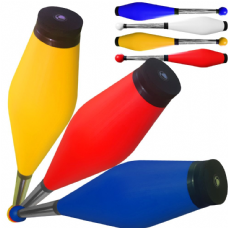 fluorescent colours Juggling clubs set of 3 Medium Air Jac Products New